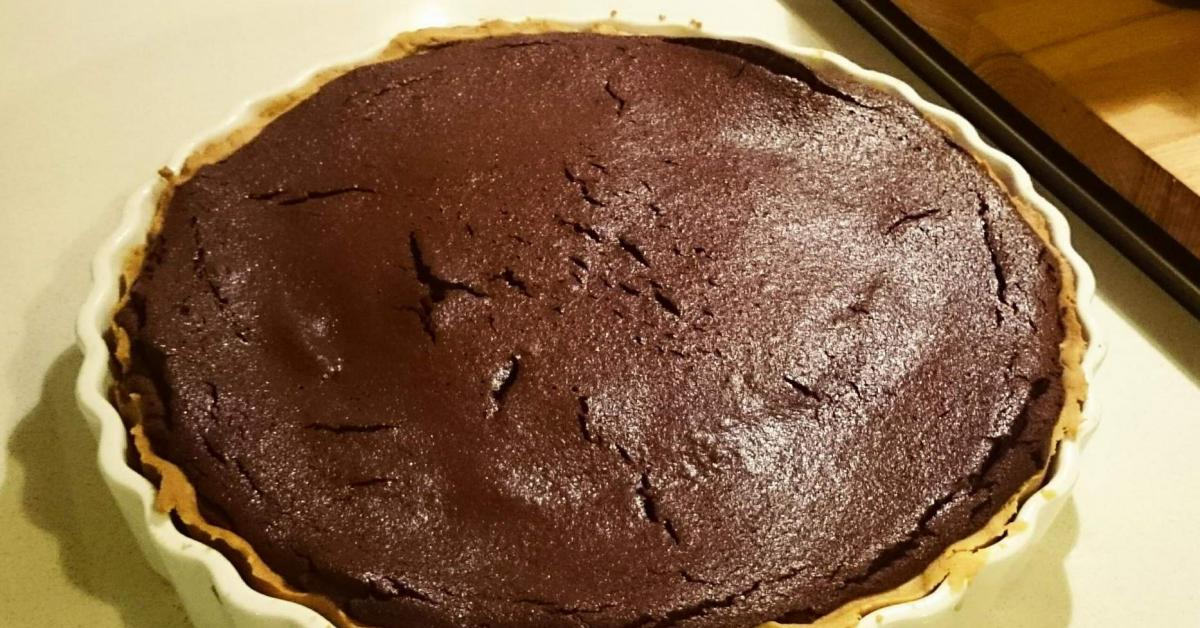 Baked Chocolate Tart Jamie Oliver Inspired By Consultantkris A