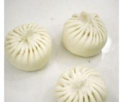 Chinese Cabbage and Pork Bun