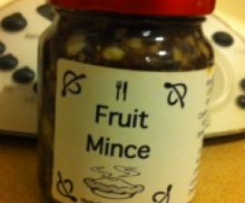 Fruit Mince (Pie Filling)