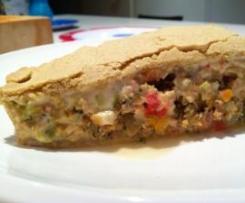Gluten free chicken and vegetable pie