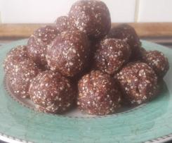 Choc Raspberry Protein Balls