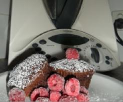 Decadent Choc Raspberry Cup Cakes