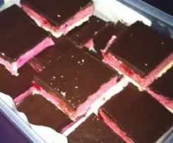 Cherry Ripe Slice