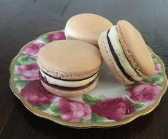 Vanilla and Raspberry Macarons (Gluten Free)