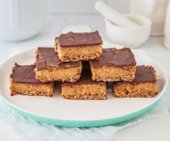 Lactation Caramel Slice