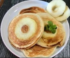 Apple slice Yoghurt pancakes