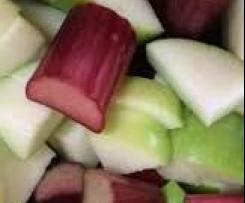 Variation Stewed Rhubarb and Apple