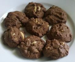 Peanut Brownie Cookies