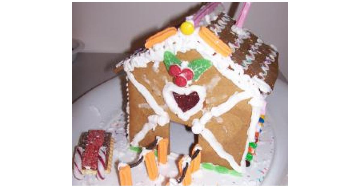 Gingerbread House By Nikki Banks On