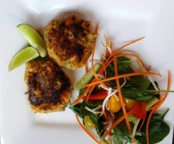 Asian style fish cakes