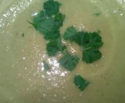 Gardener's Broth (Brussels Sprouts Soup)