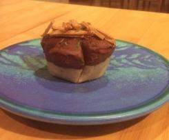 Dark & Salty Raw Caramel Thyme Tarts