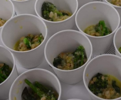 LEEK & BABY BROCCOLI SPELTOTTO
