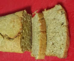 Mango Bread with Banana & Coconut