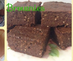 Avocado and Chia Brownies