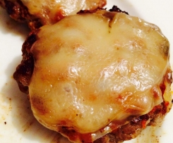 LOW CARB HEALTHY FAT CHEESEBURGERS (LCHF)