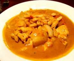 Massaman Curry with Steamed Rice