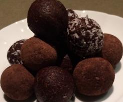 Choc Mint Protein Bombs
