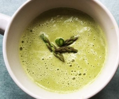 Asparagus and Spinach soup