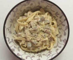 Easy Peasy Carbonara