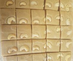 Cashew Fudge G/F D/F Cane Sugar Free