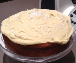 Gluten Free Almond and Lemon Cake