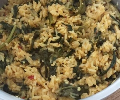 Keerai Rice (Using Automated Function)
