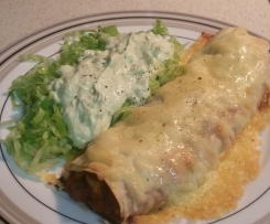 EASY VEGETARIAN ENCHILADAS