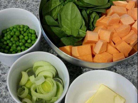 Baby puree sweet potato with spinach and peas by cake cook a thumbnail image 13 thumbnail image 1 forumfinder Choice Image