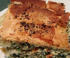 Silverbeet Filo Pie