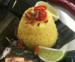Yellow Rice (Nasi Kuning)