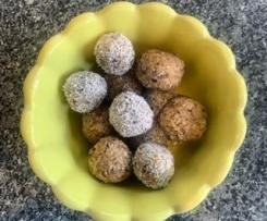 Cranberry Coconut Bliss Balls