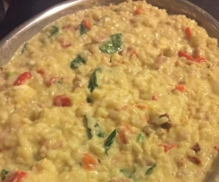 Indulgent Cheese Lovers Risotto