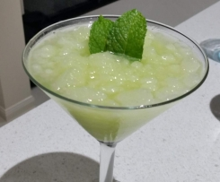 Cucumber, Lime and Mint Sorbet Cocktail