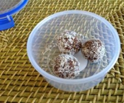 Chocolate Nut Balls