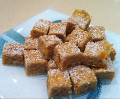 No-Bake Apricot Fudge Slice