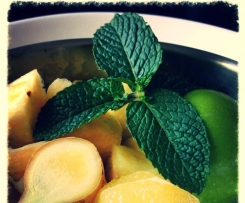 Pinapple, Apple, Ginger & Mint Sorbet