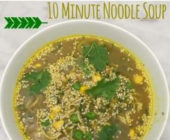 10 Minute Noodle Soup