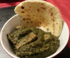 Spinach Beef Curry