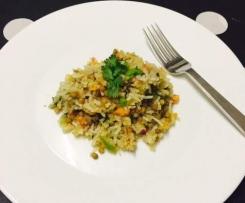 Tasty Quinoa, Rice & Lentil Salad