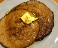 Pancakes - 3 ingredients GF DF Nut free and sugar free!