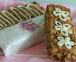 Clone of Wheat, nut & dairy-free muesli slice/ bars