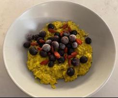 Turmeric Latte Porridge
