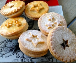 Fig, Date, Macadamia and Cranberry Mince Pies