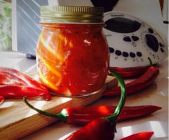 Char-grilled chilli sauce