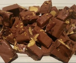 Violet Crumble Fudge