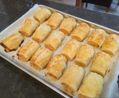 Chicken, Cheese & Pork Sausage Rolls