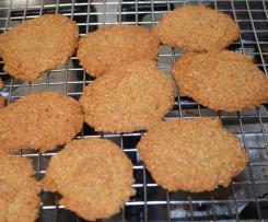 Oat & Coconut Cookies Gluten, Dairy  & Sugar free