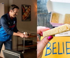 The Official Ted Lasso Biscuits (Shortbread)