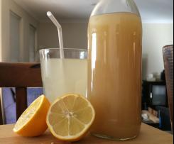 My lemon and barley water